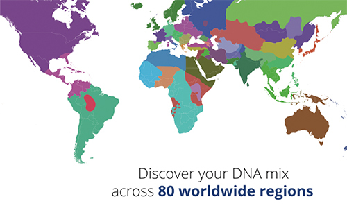 Ancestry DNA Tests on edgar casey map of the world, genome map world, show a map of the world, elder scrolls map of the world, a physical map of the world, skin color map of the world, plate tectonics map of the world, freedom map of the world, haplogroups of the world, physical features map of the world, dna human migration, peters projection map of the world, acid rain map of the world, red map of the world, climate zone map of the world, game of thrones map of the world, emissions map of the world, dna scientists and discoveries, new yorker map of the world, ranger's apprentice map of the world,